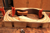 gluing the neck and end blocks